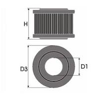 Sportovní filtr Green ISUZU CAMPO 1,6L (KB26/41) typ motoru G161Z rok výroby 81-