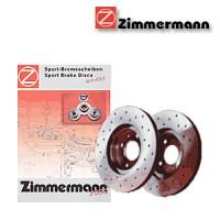 Zimmermann přední sportovní brzdové kotouče -vzduchem chlazené ISUZU TROOPER  -motor 3.5 V6 24V -- rok výroby 04.00- (430.1478.50)